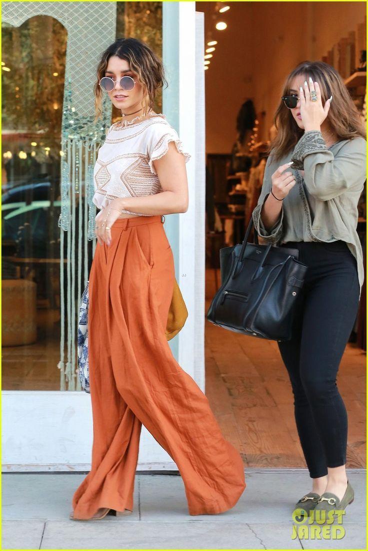 Vanessa Hudgens Rocks Boho Style Like None Other!