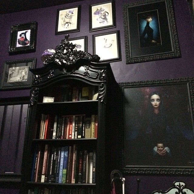 147 best Our Home images on Pinterest Gothic house, Gothic room - wandgestaltung gothic