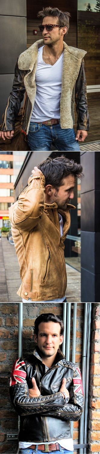 PDCollection - Discover Nice Looking Leather Jackets for Men.