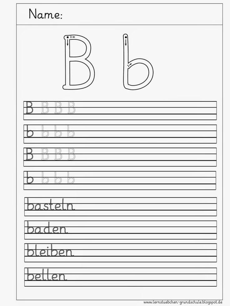 Arbeitsblätter Buchstaben Schreibschrift : Die besten schreibschrift üben ideen auf pinterest