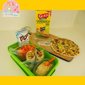 Cheese and Vegemite Wraps | Stay at Home Mum
