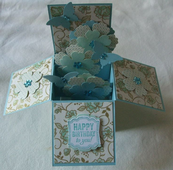 Male Anniversary Pop Up Craft Cards