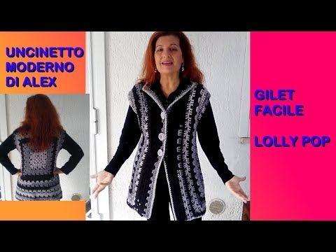 Gile Facile Uncinetto Lolly Pop Tutorial Ogni Misura Alex Crochet