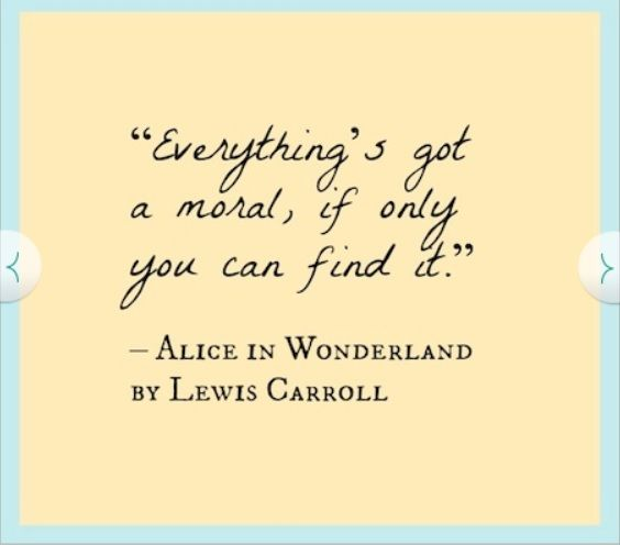 Alice In Wonderland Sayings: Alice In Wonderland Quotes