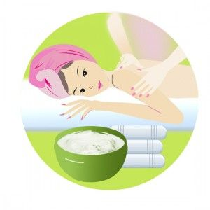 Base para hacer cremas para masajes