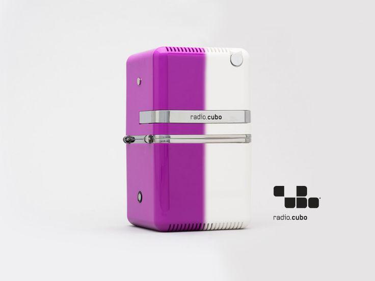 Radio.cubo ts522d+ Brionvega Collection. Colori, bluetooth, dab+, design, colour mix