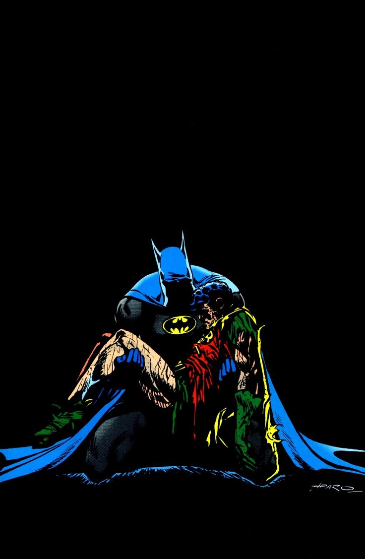 Batman and Robin Death in the Family