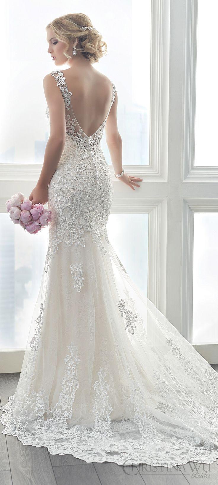 The 25 best wedding dress straps ideas on pinterest for Used wedding dresses fort wayne indiana
