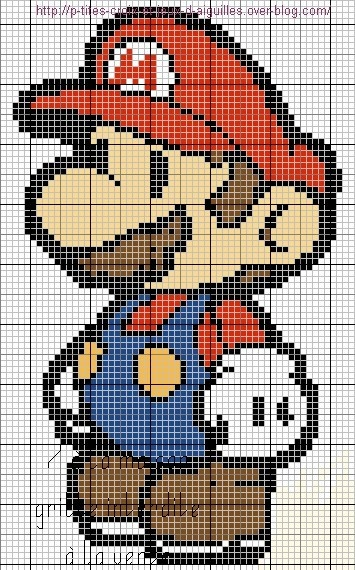 Super Mario Paper! - Luciane ponto cruz: graficos do super mario bros