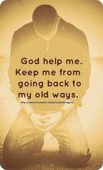 YES LORD YOU ARE THE PRESERVER OF MY SOUL. THERE'S NOTHING FOR ME BACK THERE! HALLELUJAH