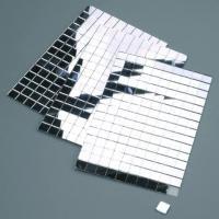 Deko Spiegel - selbstklebend - 10 x 10 mm - 150 Stk. - silber