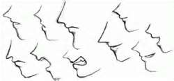 How to Draw Anime & Manga Faces & Heads in Profile Side View