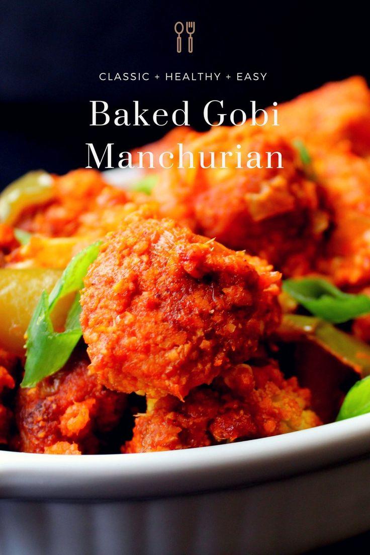 Baked Gobi Manchurian