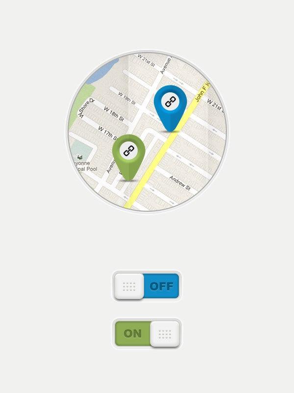Kee's Mobile App by Nicu Balan, via Behance