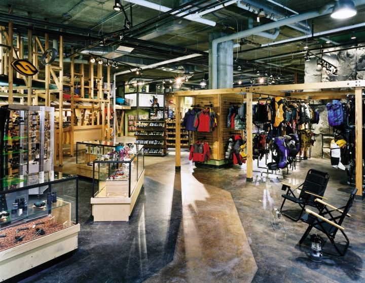 Hudson Trail Outfitters Store By Core Architecture Arlington Virginia Vm Inspirations