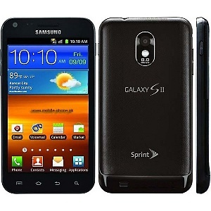 Samsung Galaxy S II Epic 4G Touch Cell Phone with 2-Year Sprint Service Contract - Black at HSN.com.