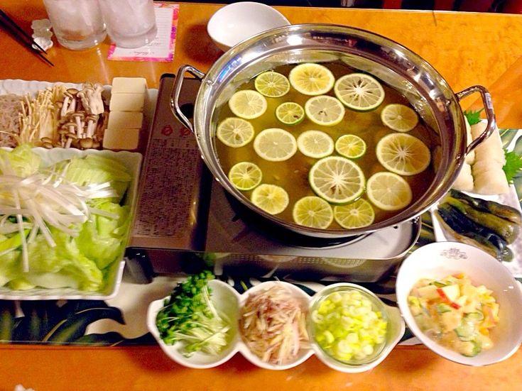 すだちとカボスのさっぱり鍋 / 鍋グランプリ2014【ヤマサ醤油株式会社】