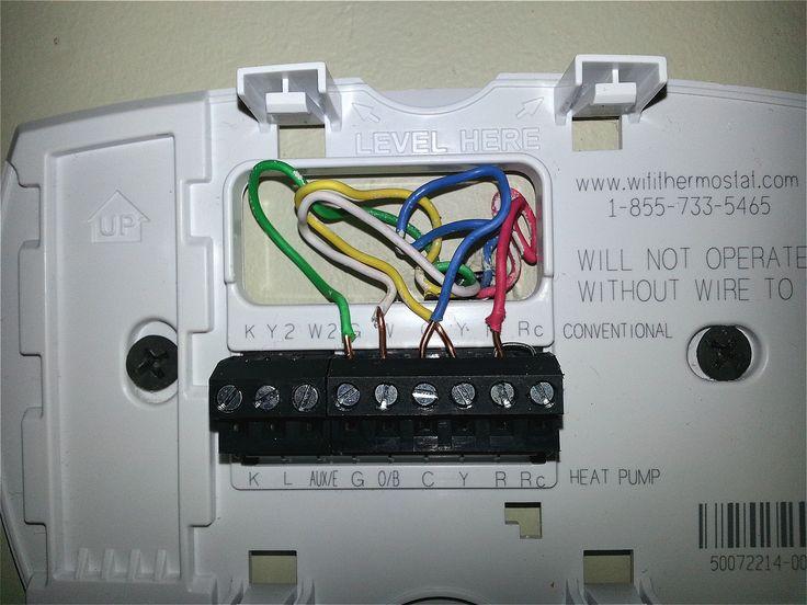 Unique Honeywell Thermostat Th8321u1006, Honeywell Thermostat Wiring Diagram