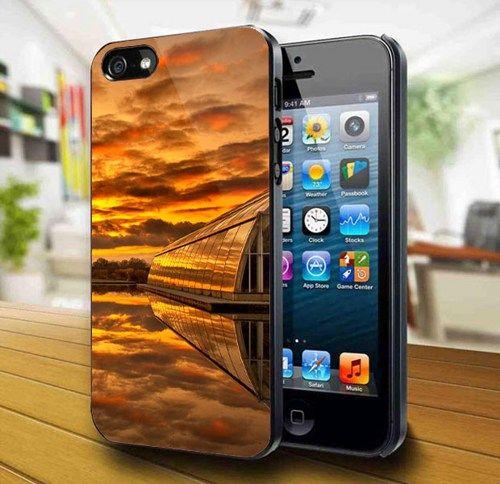 Sunset In The Village iPhone 5 Case | kogadvertising - Accessories on ArtFire