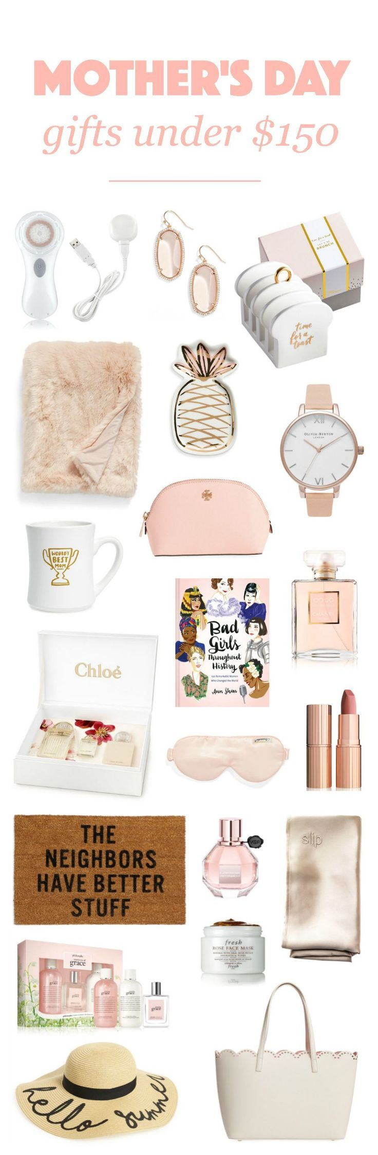 FINALLY a great roundup of affordable gifts! | for Mother's Day. Spoil the moms in your life with affordable home decor, fashion, beauty and kitchenware gifts! #cheaphomedecor