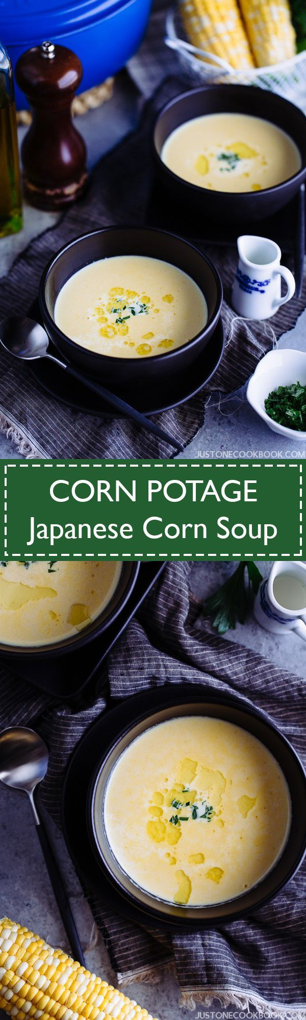 Corn Potage コーンポタージュ (Japanese Corn Soup コーンスープ) | Easy Japanese Recipes at JustOneCookbook.com