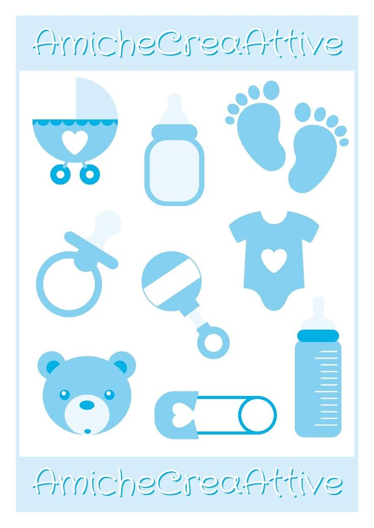 baby boy printables - AmicheCreaAttive
