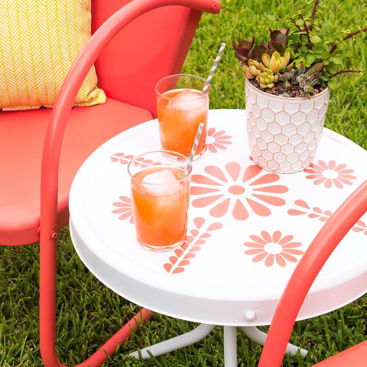 25 Best Ideas About Metal Patio Furniture On Pinterest