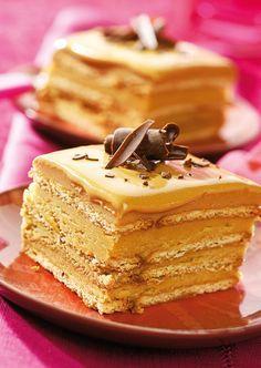 Prăjitură cu cremă fondant - Retete culinare - Romanesti si din Bucataria internationala