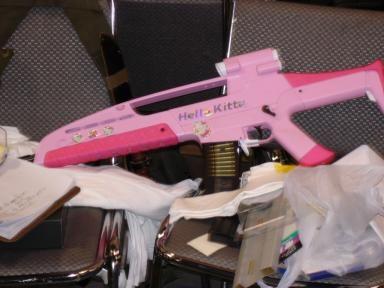 Hello Kitty XM8 rifle