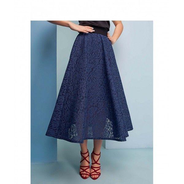 O fustă elegantă, într-o culoare vibrantă, este perfectă pentru o petrecere sau un outfit care să te scoată în evidențăDantela dublă, groasă, crează un efect de crinolină, iar betelia elastică pune in evidență taliaLungimea este ideală pentru a o purta cu tocuri sau ghete army.Dimensiuni:MărimeLătime șoldLătime talie3692 cm66 cm3896 cm70 cm
