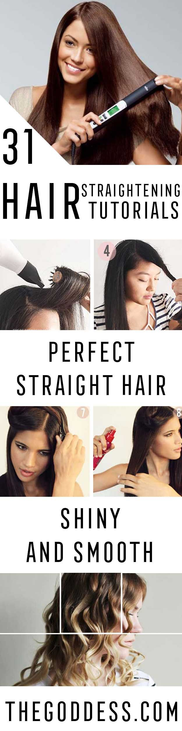 Hair Straightening Tutorials - Looking For The Best Hair Straightening Tutorials...