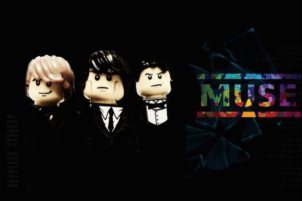 20 groupes de musique entièrement recrées en LEGO - Muse