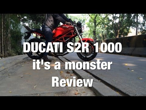 Ducati S2R 1000 Monster - Review - YouTube