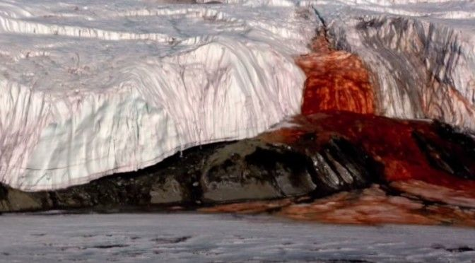 Blood Falls (Antarktis) #Weltenbau #Worldbuilding #Inspiration