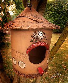 Dekorácie - Búdka pre vtáčiky II - 8334264_