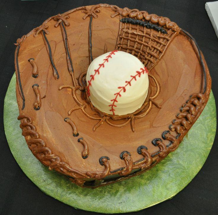 Baseball mitt and glove