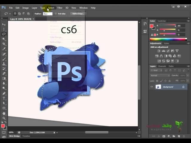 1 Photoshop Basics For Beginners كورس تعليم الفوتوشوب للمبتدئين In 2020 Photoshop Basics Photoshop Basic
