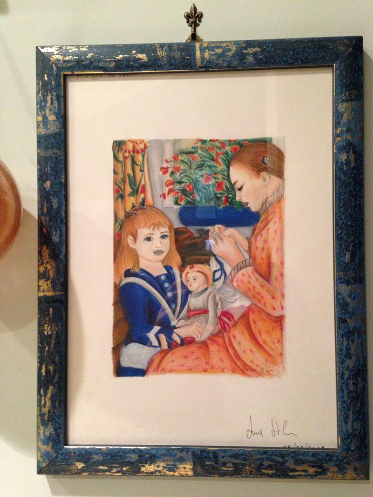 Quadro 2005 Anna Stile Jewels - matita su cartoncino