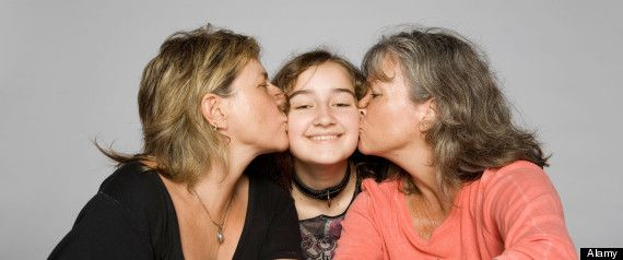 Teens with Lesbian Parents