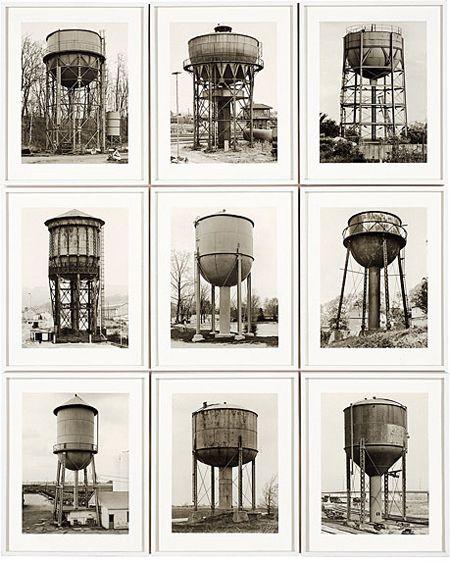 Bernd Becher e sua esposa Hilla são fotógrafos alemães conhecidos por catalogarem estruturas e construções industriais na Alemanha e nos Estados Unidos durante as décadas de 1960 e 1970.