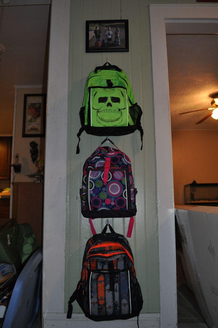 Diy Backpack Station Her Family Trends Mud Room