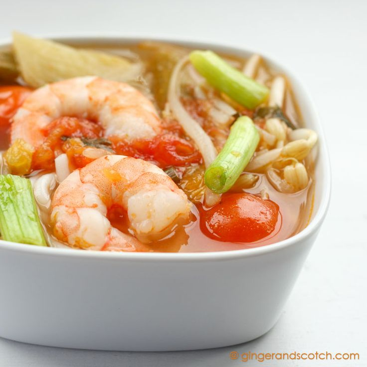 Vietnamese sweet and sour soup that is better than restaurant quality and so simple to make in less than 20 minutes.
