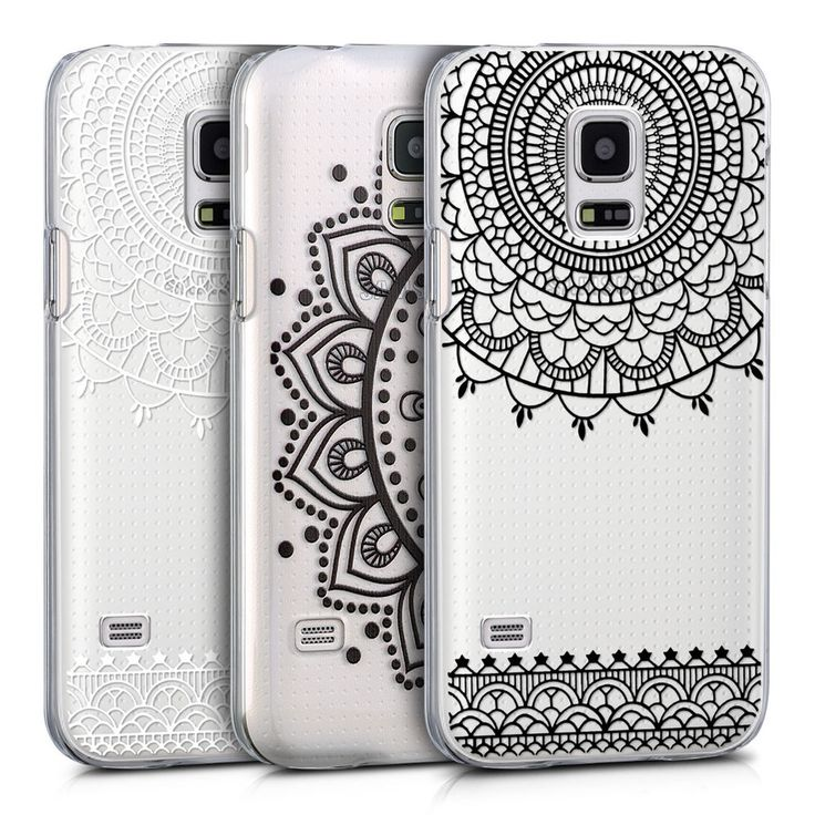 kwmobile CRYSTAL HARD CASE FÜR SAMSUNG GALAXY S5 MINI G800 COVER SCHUTZ HÜLLE