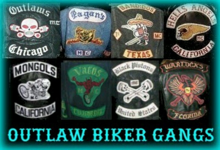 Outlaw MC patches