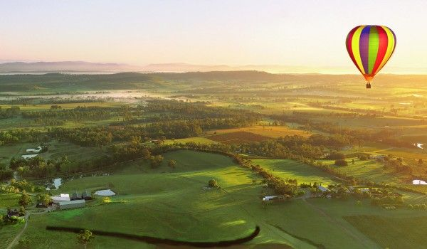 One of the most iconic ways to experience the Hunter Valley is in a hot air balloon. Time your trip to sunrise or sunset and witness one of Australia's most beautiful regions in an unforgettable setting.