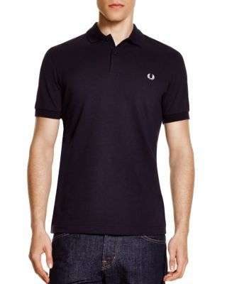 FRED PERRY Slim Fit Piqué Polo Shirt. #fredperry #cloth #shirt
