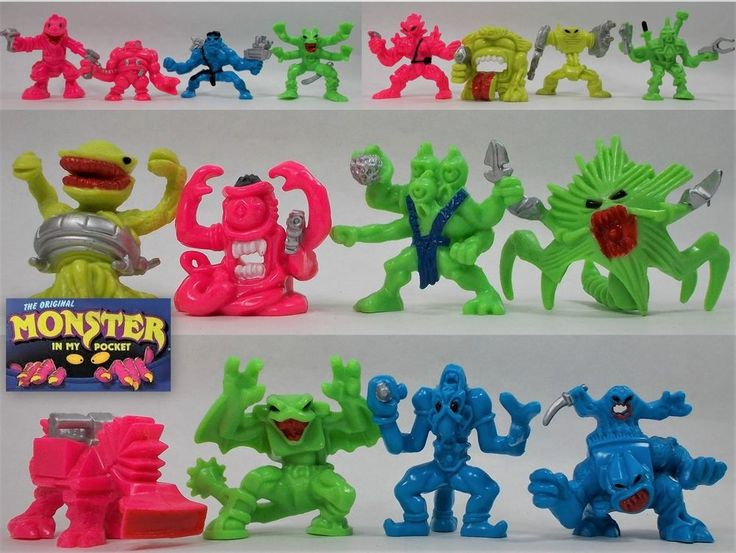 Monster in my Pocket - Space Aliens - Complete Set X 16 (5)
