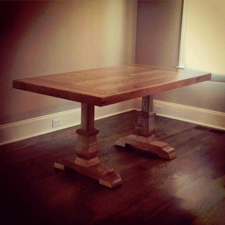 Custom Wood Classic Dining Table