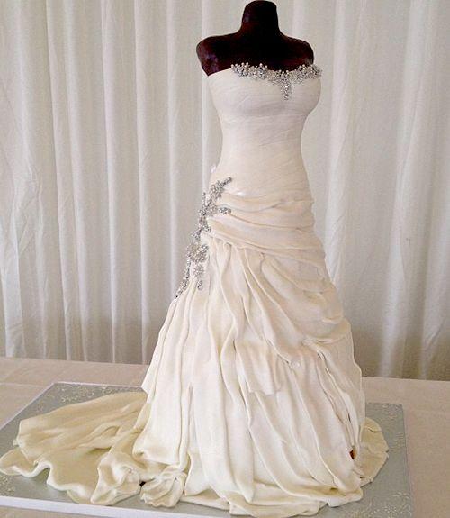 77 best bridal dress cake images on Pinterest | Cake ideas, Cake ...