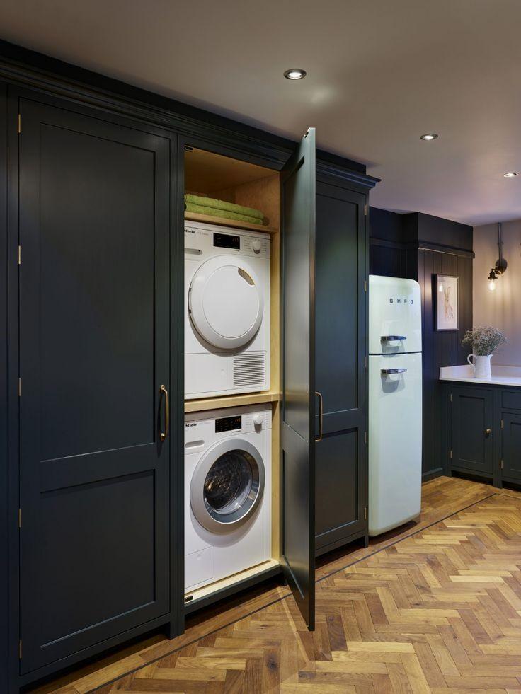 Pin On Laundry In Kitchen Ideas